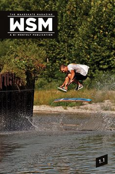 The Wakeskatemag issue One Cover    #wakeskate #wakeskating