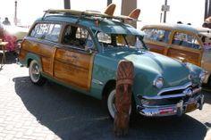 The Beachcruiser Car Show - Huntington Beach Festivals - California Car Shows - Tourist Information about Huntington Beach - California