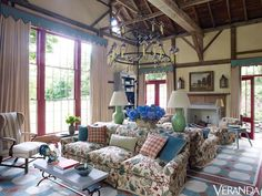 Richard Keith Langham's Rustic Country House