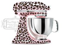 Customized Hot Pink Cheetah Print Vinyl Wrap For White