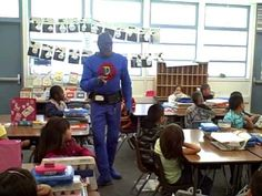 DangerMan says our kids need to read more!