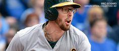 Eric Sogard wears Kaenon 401 optical glasses on the baseball field.  #SportsEyewear