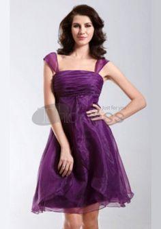Short Prom Dresses / Square Neckline Organza Short Prom Dresses / http://www.thdress.com/Square-Neckline-Organza-Short-Prom-Dresses-p871.html