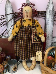 Raggedy Ann And Andy, Rag Dolls, Handmade Dolls, Fall Decor, Primitive, Autumn, Friends, Children, Colors