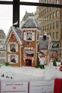 Gingerbread house by Habitat NCR