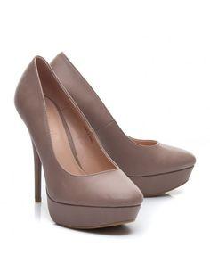Klasické hnedé lodičky S3477-5KH / S2-53P Peeps, Modeling, Peep Toe, Platform, Sandals, Shoes, Fashion, Moda, Shoes Sandals