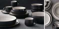 18th Street Dinnerware...C&B...for guests