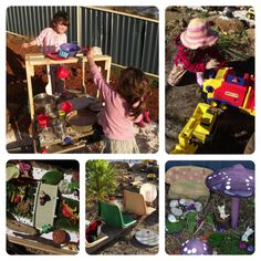 Budget friendly ideas for creating Outdoor Playspaces & Learning Activities for Home Educators . The importance of outside play for children shouldn't be forgotten in our planning as educators or parents...what do you think?. Mummy Musings and Mayhem