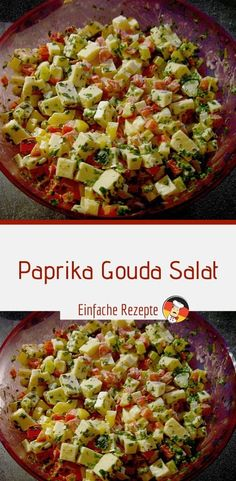sprainnews paprika gouda salat Paprika Gouda Salat SprainnewsYou can find Mexican food recipes and more on our website Gouda, Meals For Two, Kids Meals, Easy Meals, Asian Recipes, Mexican Food Recipes, Healthy Recipes, Brunch Recipes, Dinner Recipes