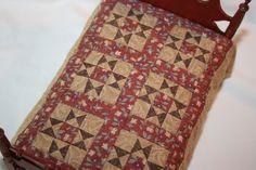 Bonny King Schwitzgible - hand pieced star pattern quilt  .