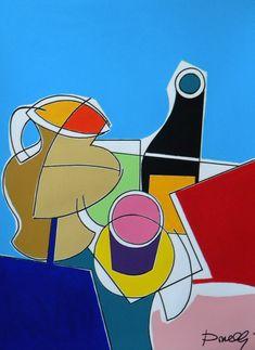 Brocca, bottiglia e tazzina. Jug, bottle and cup. 2017. Gabriele Donelli