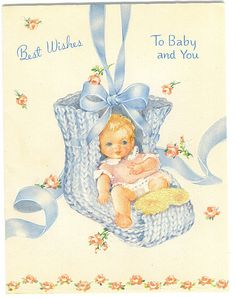 Best Wishes to Baby and You by Tommer G, via Flickr