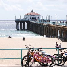 Manhattan Beach, CA; this was as far as I go on roller skates - redondo to manhattan beach and back Southern California Beaches, California Dreamin', Los Angeles California, Echo Park, Santa Monica, Balboa Beach, San Diego, Manhattan Beach Pier, Wanderlust