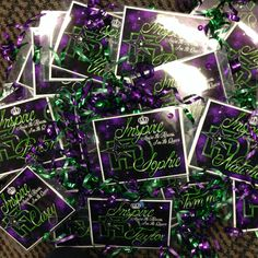 Laminated Door Hangers the girls received before the Las Vegas competition to put on their hotel room doors!