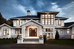 Traditional Meets Contemporary in Sophisticated Home - Freshome