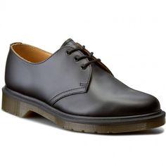 Półbuty DR. MARTENS - 1461 PW 10078001 Black Doc Martens, Men Dress, Dress Shoes, Furla, Derby, Oxford Shoes, Lace Up, Black, Fashion