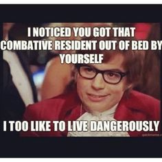 Nurse Humor. Austin Powers. Live