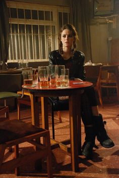 Red is the last person you'd ever want to get involved with. She is cruel for fun and if you asked her to keep a secret for you, she'd either use it against you or tell everybody in town. Red is the black sheep in the small town of about 100. No one likes her and one night you find her by herself like this.