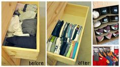 When you have a lot of clothes and accessories, or just a lot of clutter, it can be difficult to reclaim your closet and drawers and get organized. Fear no m...