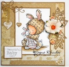 LOTV - Polka Dots by Jayne Rhodes Bujo, Best Of Intentions, Baby Christening, Lily Of The Valley, Card Tags, Baby Cards, Cute Cards, Beautiful Babies, Baby Theme