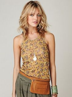 Free People olivia pocket belt