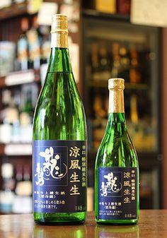 【夏酒】 龍勢(りゅうせい) 涼風生生(りょうふうなまなま) 特別純米 1800ml