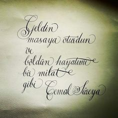 My copperplate.
