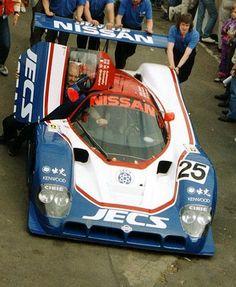 1990 Nissan R 90 CK  Nissan (4.894 cc.) (T)  Kenny Acheson  Martin Donnelly  Olivier Grouillard