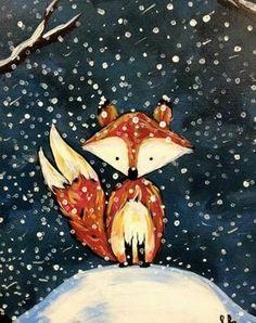 Fox Christmas animal