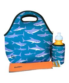 Take a look at this Sharks Three-Piece Lunch Set today!