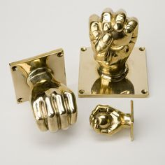 Hand and Ball Door Handle and Cupboard Knob Product DF 54