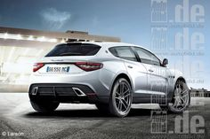 maserati suv....no mini van for me, this is what I'll drive when I have kids lol