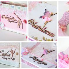 Beautiful Ballerinas. Specialized handmade custom made albums, wishbook and more. ❤️💗🎀