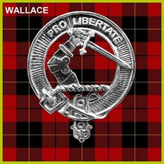 WALLACE Clan Crest Badge CB02 by celticstudio on Etsy, $22.98