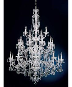 crystal chandelier schonbek -