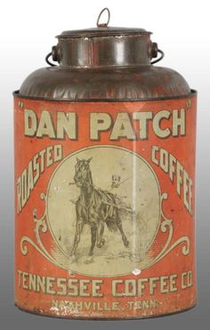 Harness Racing legend, Dan Patch, was one of the nation's greatest sports icons in the early 20th century. His stardom made him the perfect endorsement-- and he was-- for everything from cigars to children's toys and coffee. Have you ever come across any of this memorabilia? #Harnessracing #DarkHorseBet