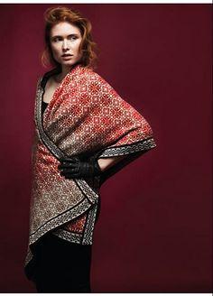 Ravelry: #02 Stola Jaquard pattern by Anna Maria Busch