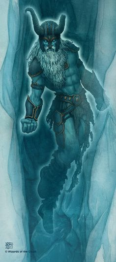 Hyrkzag the Frost Giant Ghost by *kerembeyit on deviantART