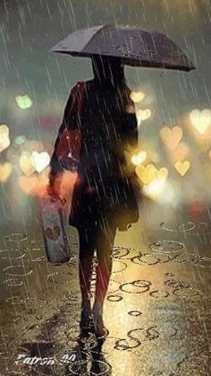 GIF with everyone you know. GIPHY is how you search, share, discover, and create GIFs. Walking In The Rain, Singing In The Rain, Rain Photography, Street Photography, White Photography, Gifs, Rain Gif, I Love Rain, Girl In Rain