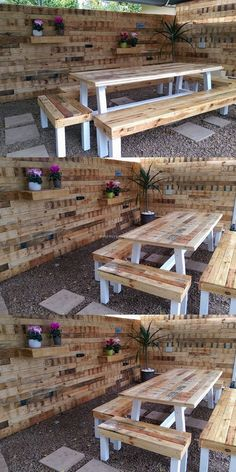 Pallets Table set