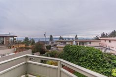 Magdalen Ave - $1,088,800 - Ocean view from the top floor of this 3 bedroom & den Rancher style home with loft, open floor plan, skylights, post & beam construction, vaulted ceilings, hardwood floors, granite counter tops, french doors, cozy wood burning f/p, professionally landscaped, extra large private sun decks & patios. This home has a double detached garage with full suite above, in a park like setting, on a quiet dead end street on the westside of White Rock, steps to the ocean!