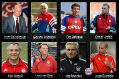 Bayern Managers over the years