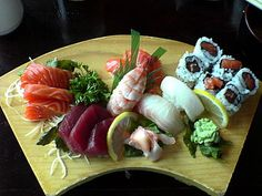 List of sushi and sashimi ingredients - Wikipedia, the free encyclopedia