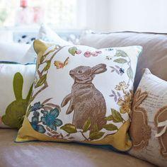 Garden Bunny Pillow pier1