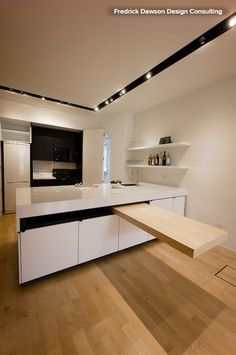 12 Stylish Kitchen Counters That Seem to Float in Space — American Cabinet & Flooring, Inc.