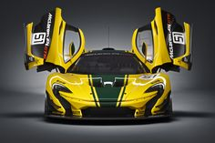 "The McLaren P1 GTR is the purest essence of a British hybrid trackday wondercar, with nothing you don't need and all of that 986 horsepower and a fat wing you do. Every version we've seen has technically been a ""concept,"" but this gorgeously-liveried spec is the one you can actually plunk down cash for and purchase."
