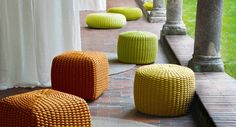 Tide pouf (outdoor) — West | Out East