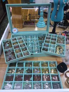 Charm and bead display