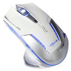 E-BLUE EMS601 Wireless LED Flashing Optical Gaming Mouse