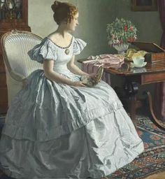 """""""Contemplation"""" by Leonard Campbell Taylor"""